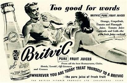 Britvic Advert 1387 1953 Views Drinks