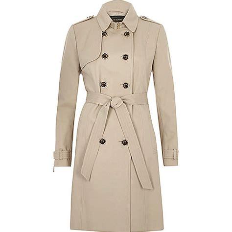 beige tie waist trench coat coats coats jackets women