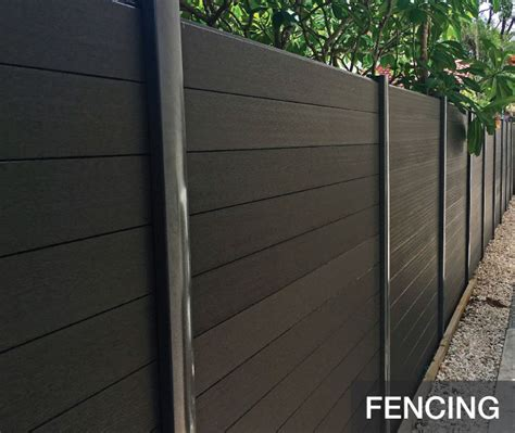 decko composite wood fencing rubicab projects decks