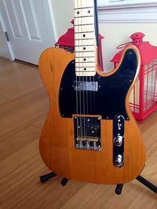 Squire Affinity Telecaster Upgraded Partscaster