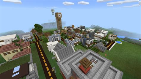 modern city map minecraft modern city map for minecraft android apps on play