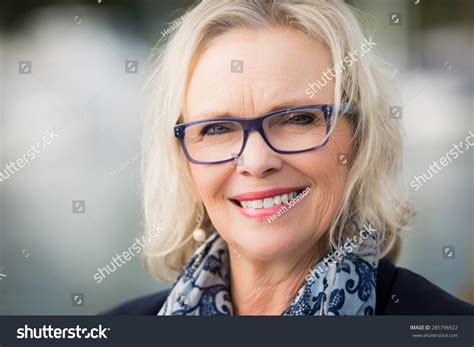 Years Old Blonde Woman Stock Photo Shutterstock