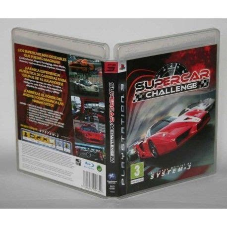 Challenge Ps3 by Comprar Supercar Challenge Ps3