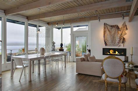 cuisine salle a manger ouverte maison moderne à la décoration éclectique vivons