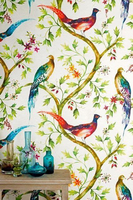 Exotic Birds Design Wallpaper  Jungle Paradise Birds