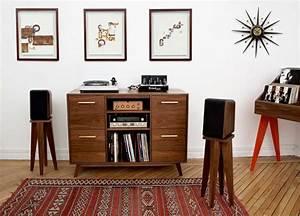 Meuble Pour Vinyle : 35 id es d co pour ranger des vinyles ~ Teatrodelosmanantiales.com Idées de Décoration