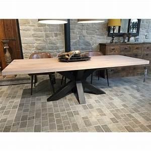 Gardinenstange Weiß 240 : esstisch eiche tischplatte tisch eiche tischplatte industriedesign tischgestell aus metall ~ Indierocktalk.com Haus und Dekorationen