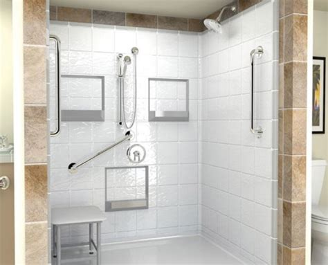 Arizona Tile Granite by Handicap Showers
