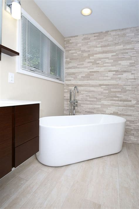 contemporary white master bath  tub  shower savvy