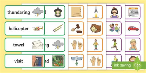 * New * Polysyllabic Phase 35 Word Cards  Phase 3, 4 And 5 Word Cards