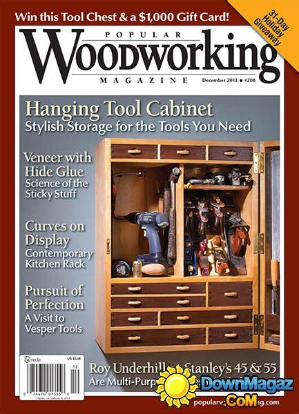 popular woodworking  december