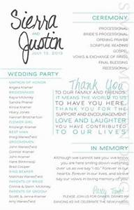 loved ones lost and wedding programs on pinterest With modern wedding ceremony outline