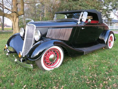 1933 Ford Roadster All Steel  Classic Ford Other 1933 For