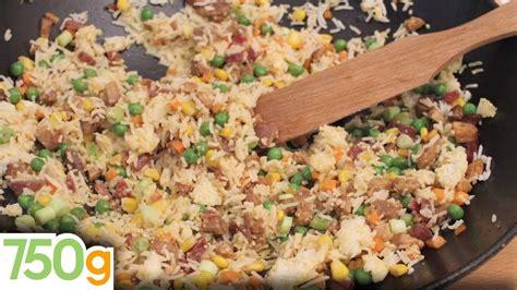 750 grammes cuisine recette du véritable riz cantonais 750 grammes