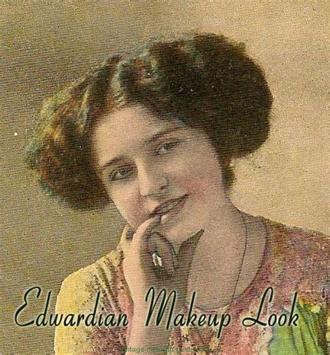 edwardian makeup styles vintage makeup guides