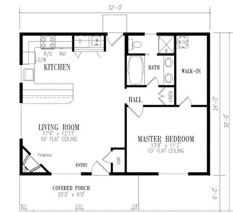 of images one bedroom floor plans 1 bedroom house plans page 2