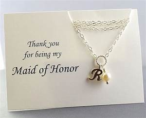 maid of honor gift nice idea very cute moh and With wedding gift from maid of honor