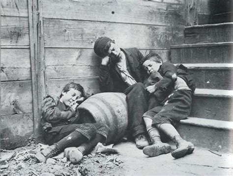 Street Arabs In Their Sleeping Quarters By Jacob Riis