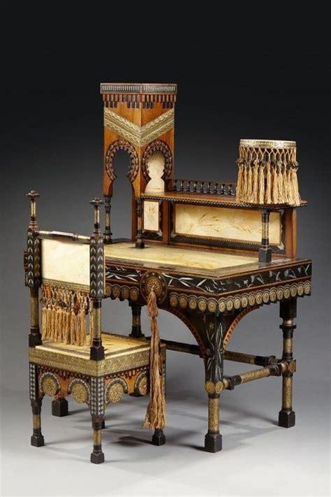 chaise bureau bois carlo bugatti 1856 1940 bureau mosquee et sa chaise