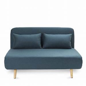 canape lit 2 places convertible john par drawer With tapis de yoga avec canapé bleu 2 places