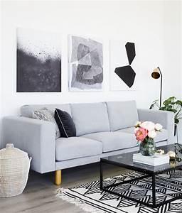 Weiß Graues Sofa : tipps und tricks f r sofa styles macht es euch wohnlich ~ A.2002-acura-tl-radio.info Haus und Dekorationen