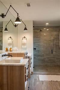 47, Best, Farmhouse, Master, Bathroom, Design, And, Decor, Ideas