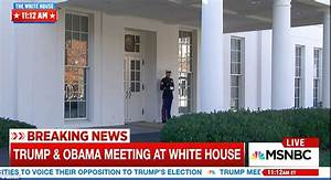 Trump and Obama meet in the White House after shock ...
