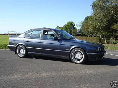 Classic Bmw 5 Series Black Leather/alpina Alloys For Sale