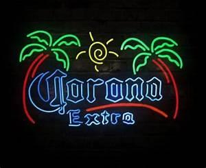 Corona Extra Beach Beer Bar Neon Light Sign 17 x 14 Neon