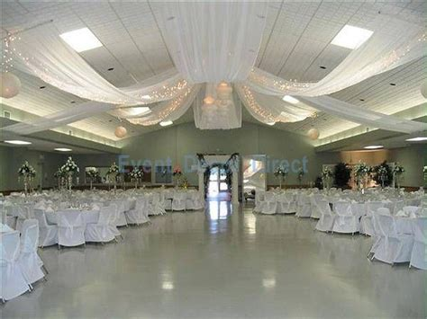 diy wedding crafts ceiling draping kits rachel troy