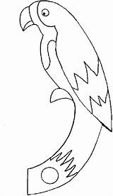 Parrot Pages Coloring Printable sketch template