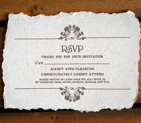 vintage style wedding invitation  solographic art