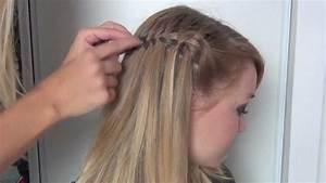 Coiffure Enfant Tresse : tutoriel coiffure tresse cascade youtube ~ Melissatoandfro.com Idées de Décoration