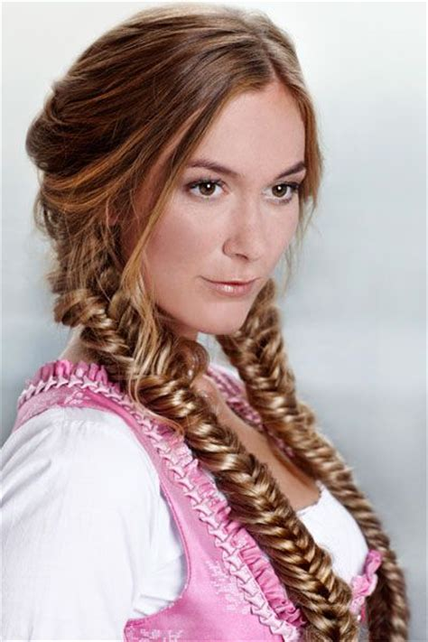 oktoberfest step  step  braids  pinterest