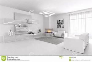 All White Living Room Ideas