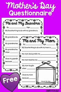 Mother's Day Questionnaires | New Teachers | Pinterest ...