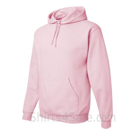 light pink pullover hoodie jerzees nublend 50 50 pullover hood with front pocket