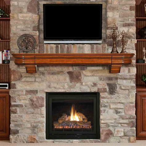 fireplace mantels for 72 abingdon distressed medium oak finished fireplace