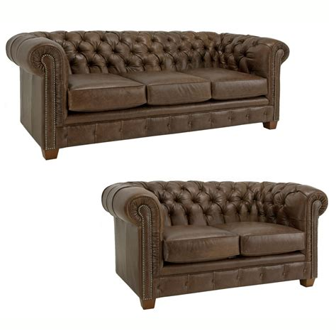 brown chesterfield sofa brown leather tufted chesterfield three seater sofa plus