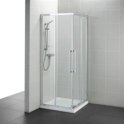ideal standard kubo mm corner entry shower enclosure