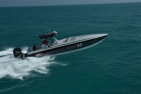 Cigarette Boat Ocean by Florida Powerboat Club Has A Brand New Boat 33 Ocean