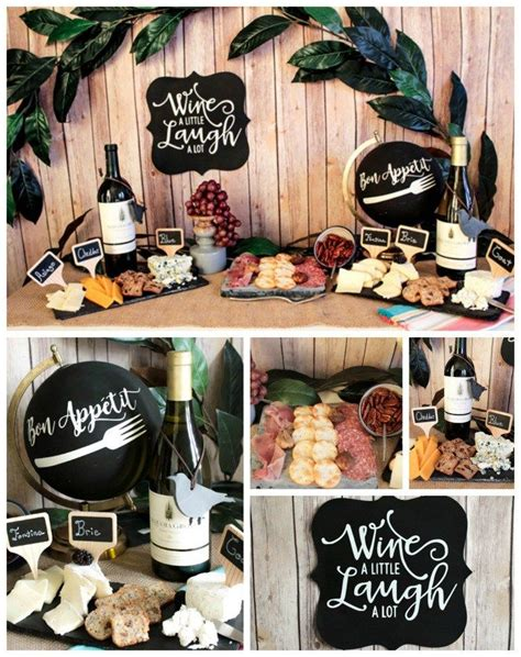 wine birthday party decorations decoration  home