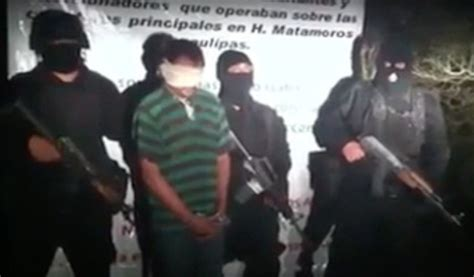 Graphic Video Gulf Cartel Tortures Executes Gang Near