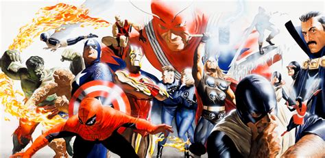 Comic Book Covers By Alex Ross