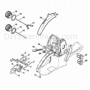 Stihl Ms 660 Chainsaw  Ms660 Magnum R  Parts Diagram