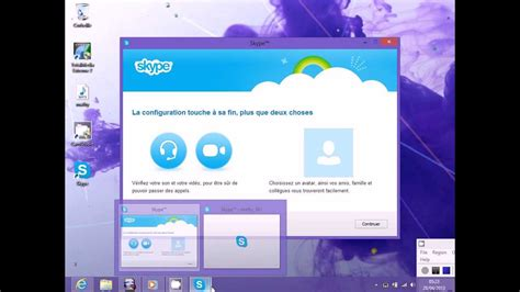 afficher bureau windows 8 comment mettre skype sur le bureau windows 8