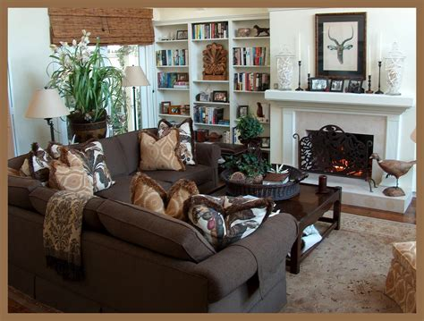 Teal Brown Living Room Ideas by Interior Design Style Guide With Soothing Family Room