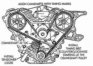 re timing 35 liter chrysler engine so i was replacing With 35 chrysler timing belt diagram