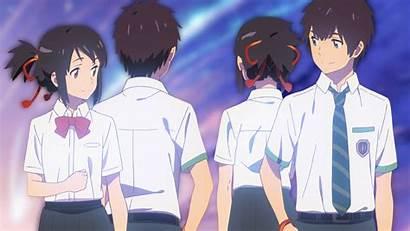 Anime Mitsuha Taki Miyamizu Kimi Wa Na