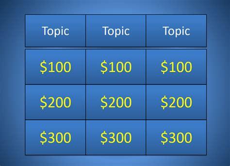 jeopardy powerpoint template rebocinfo
